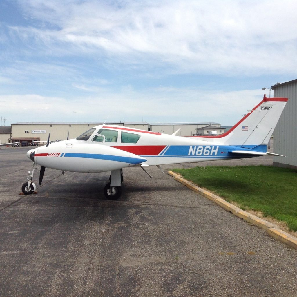 well equipped 1960 Cessna 310D Multi Engine aircraft