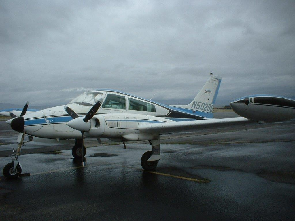 Colemill conversion 1968 Cessna 310N aircraft