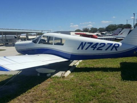 great shape 1966 Piper Cherokee 140 aircraft for sale