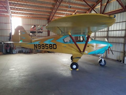 hangared 1959 Piper Tri Pacer PA 22 150 aircraft for sale