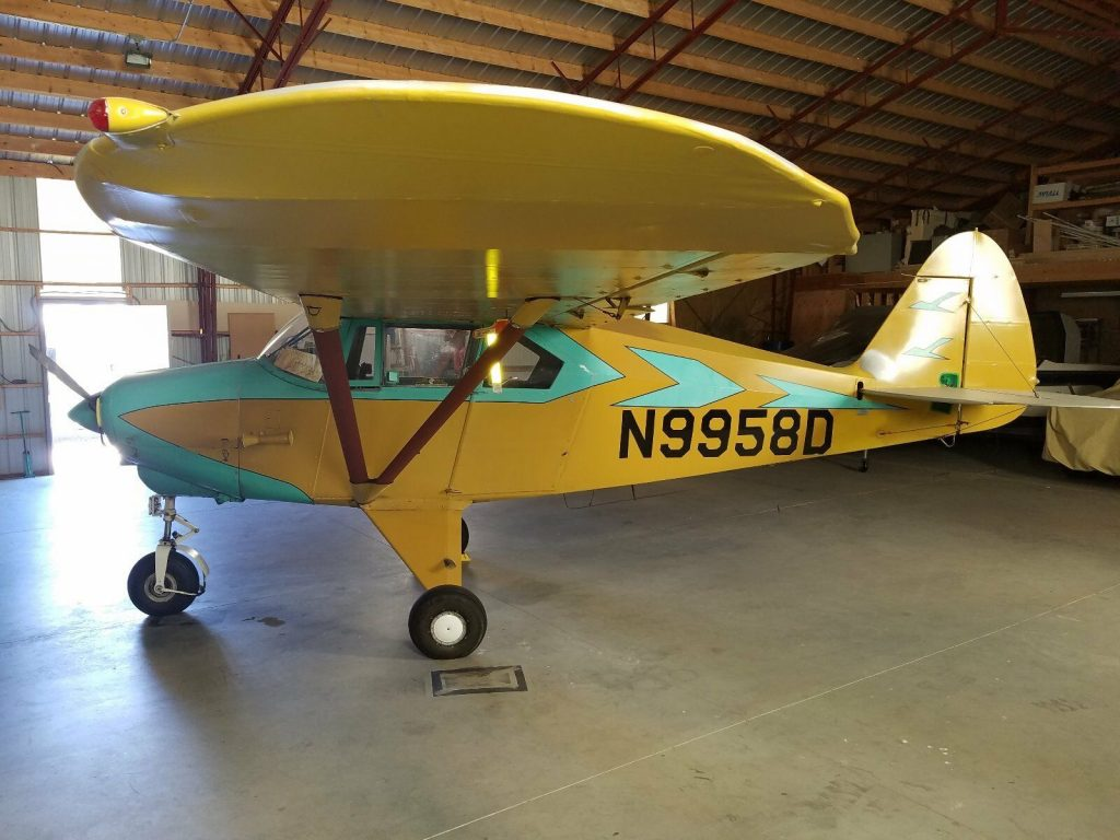 hangared 1959 Piper Tri Pacer PA 22 150 aircraft