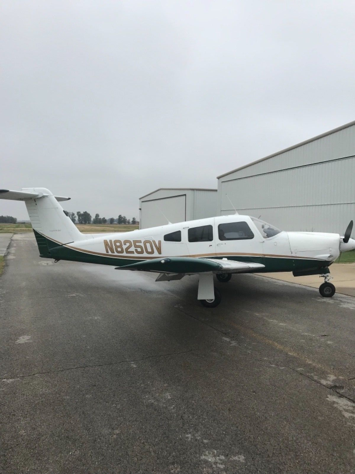 New plugs and wires 1980 Piper Arrow IV aircraft for sale