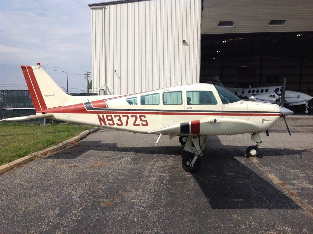 nice 1975 Beech B24R Sierra aircraft