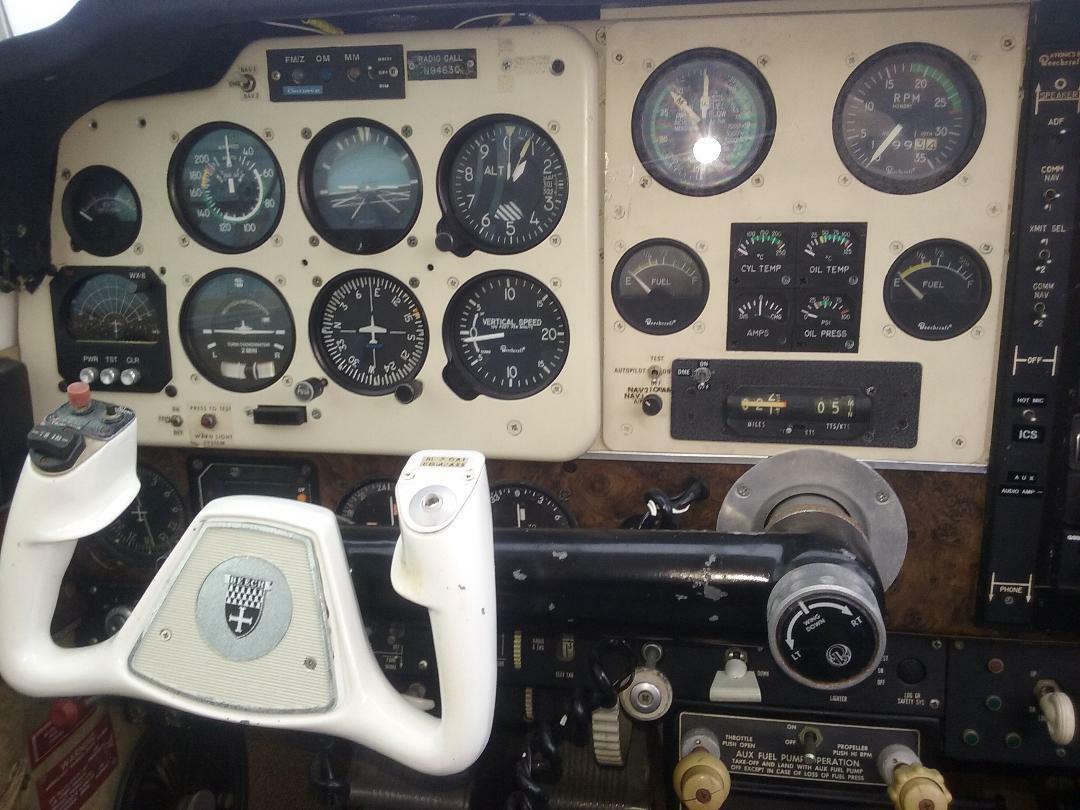 project 1973 Beechcraft Bonanza V35 aircraft