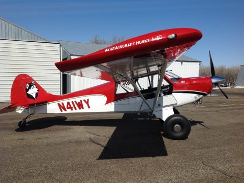renewed 2011 Aviat Husky A 1C 200 HP aircraft for sale