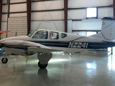 Always Hangared 1959 Beechcraft B95 Travel air Multi Engine aircraft for sale