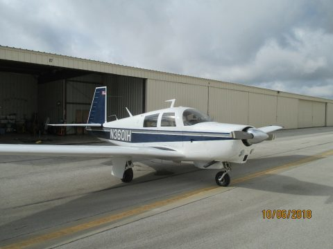 fully operating 1977 Mooney M20C aircraft for sale