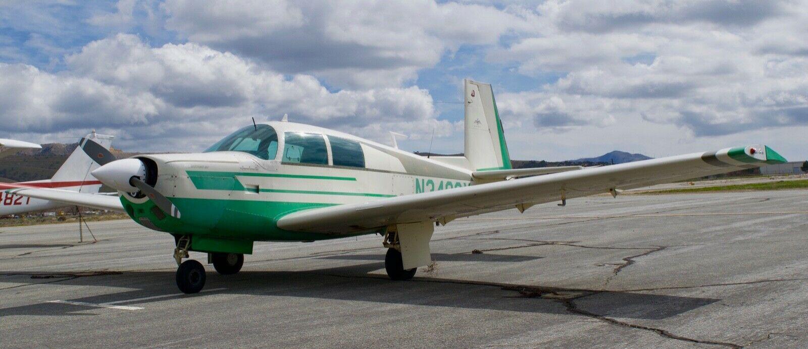 great shape 1966 Mooney M20E aircraft
