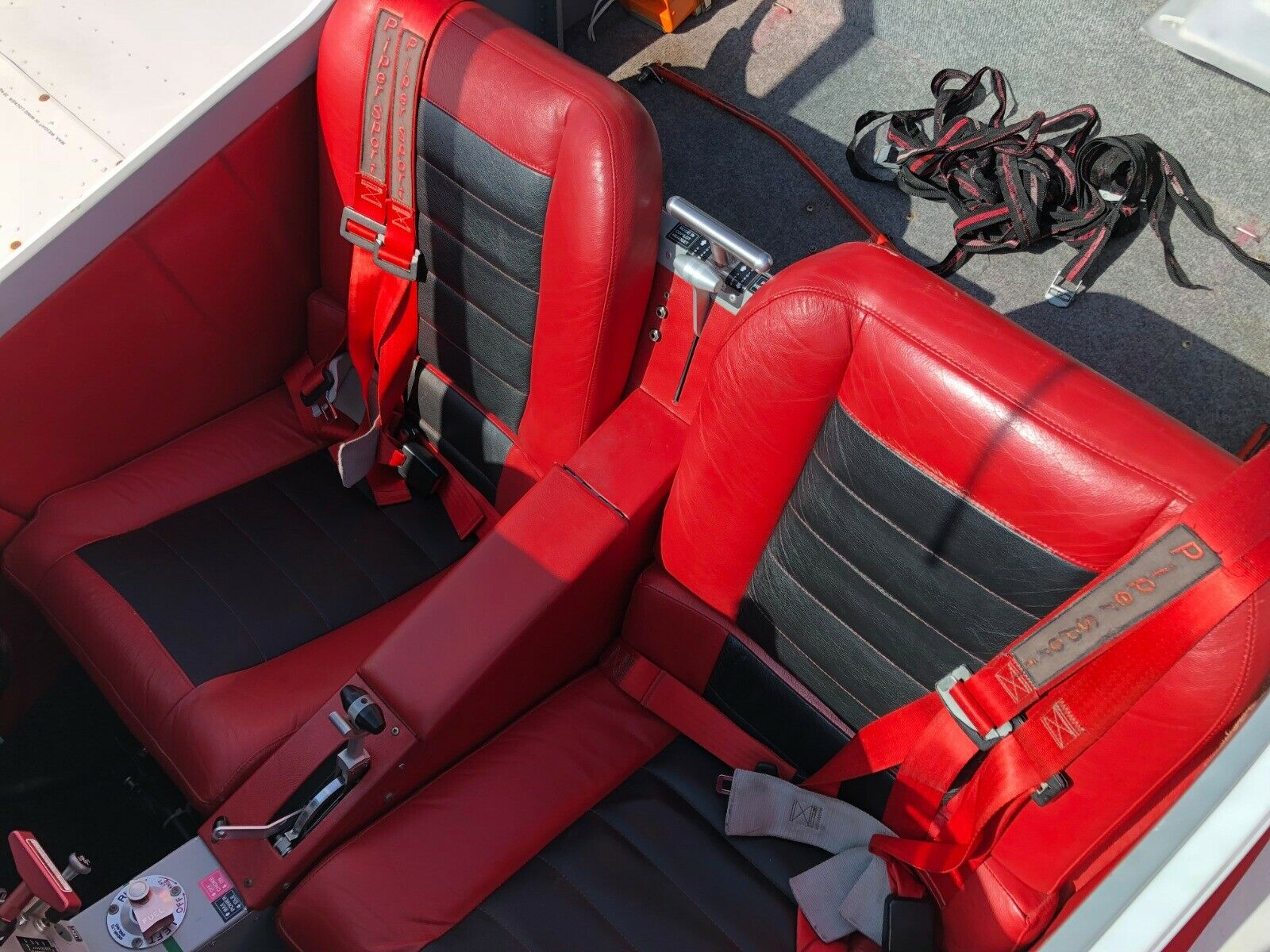 new engine 2010 Pipersport aircraft