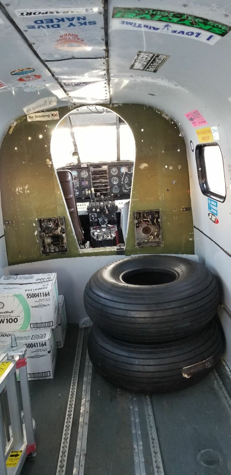 new parts 1952 Beechcraft D18S Project Aircraft