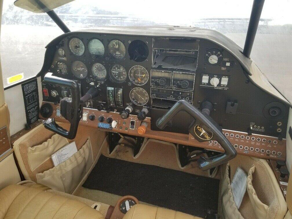 new seats 1976 Bellanca Super Viking aircraft