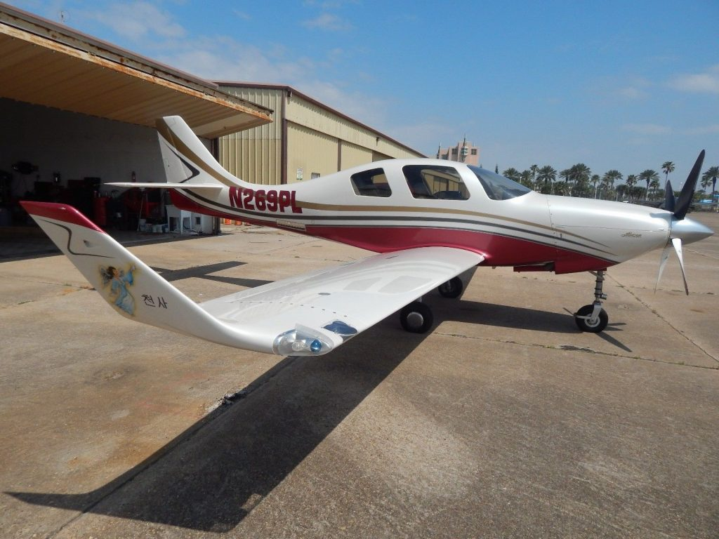 sharp 2007 Lancair 4P aircraft