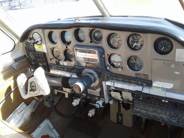 beautiful 1958 Beechcraft Bonanza 35 Airplane Single Engine Aircraft