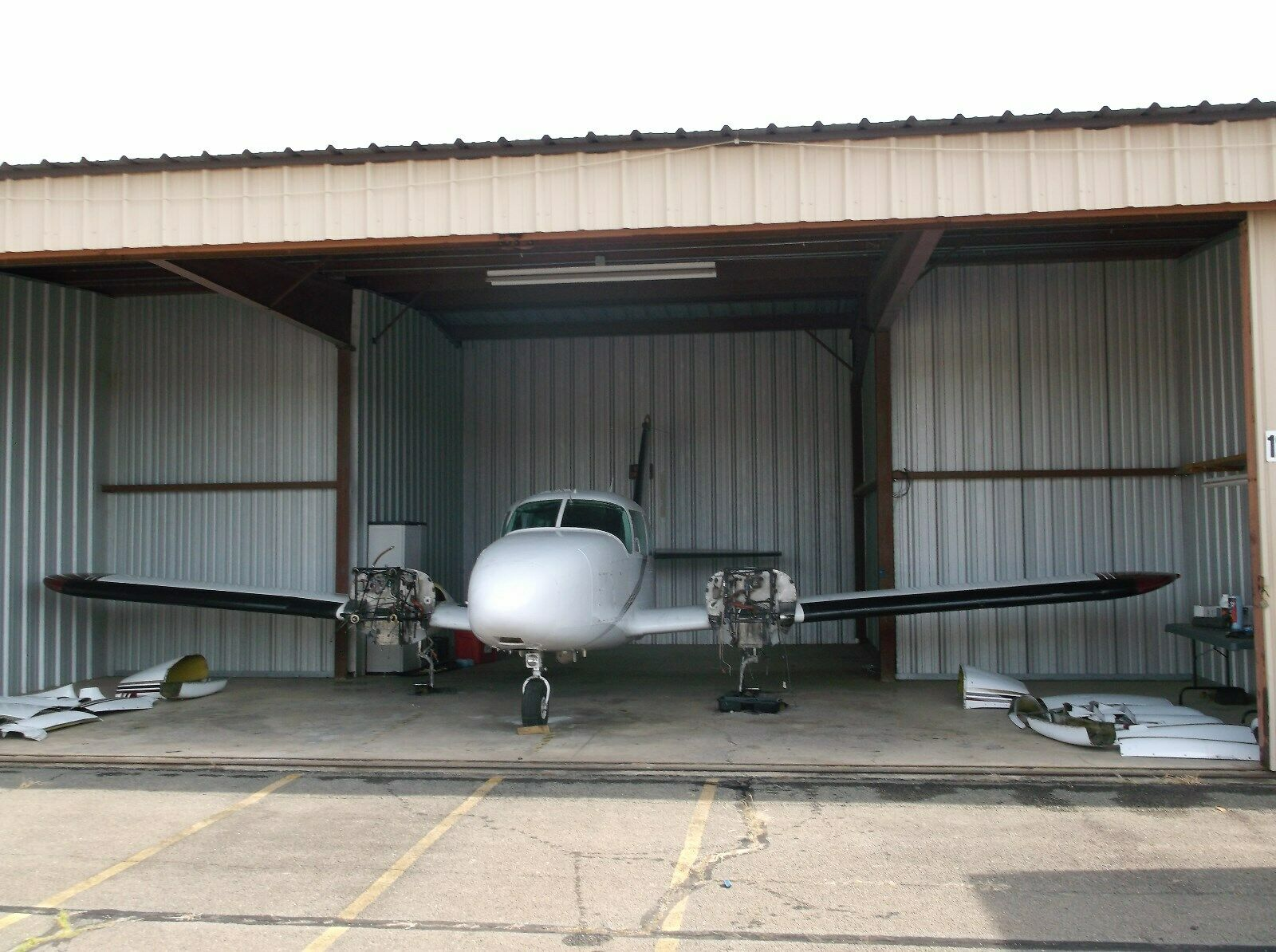 complete undamaged 1967 Piper PA 23 250 Turbo Aztec aircraft for sale