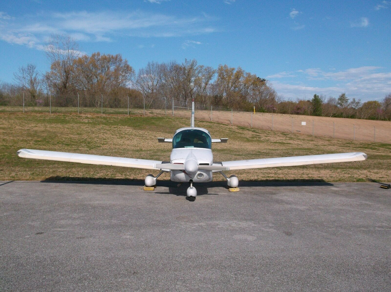 light front damage 1974 Grumman AA 5 aircraft for sale
