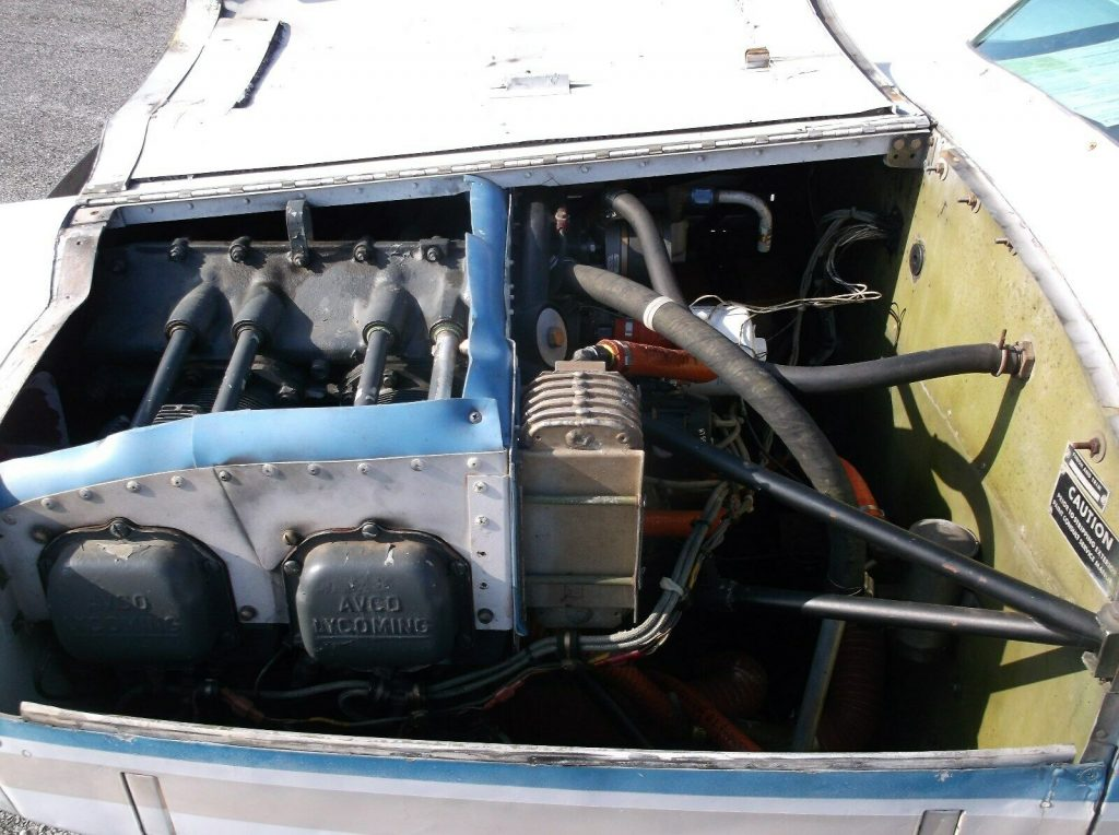 light front damage 1974 Grumman AA 5 aircraft