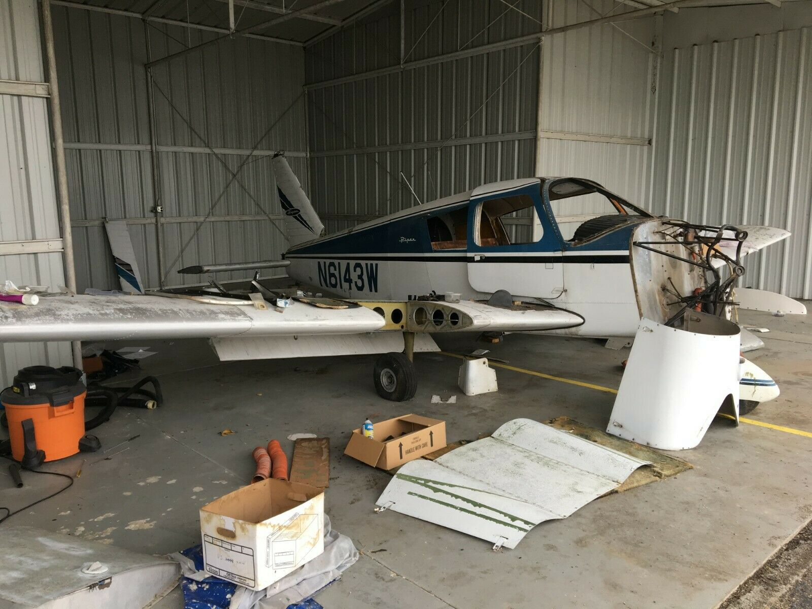 project 1964 Piper PA 28 aircraft for sale