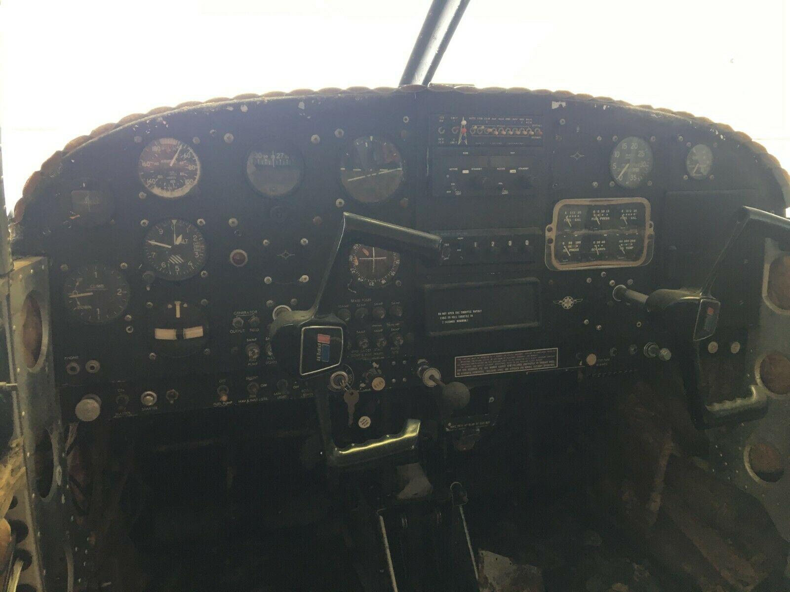 project 1964 Piper PA 28 aircraft
