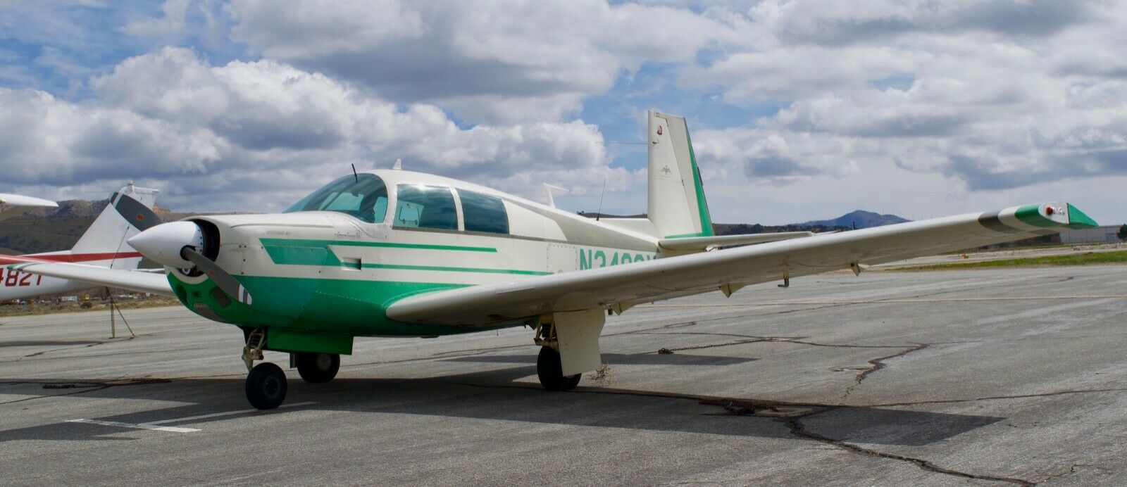 very nice 1966 Mooney M20E aircraft for sale