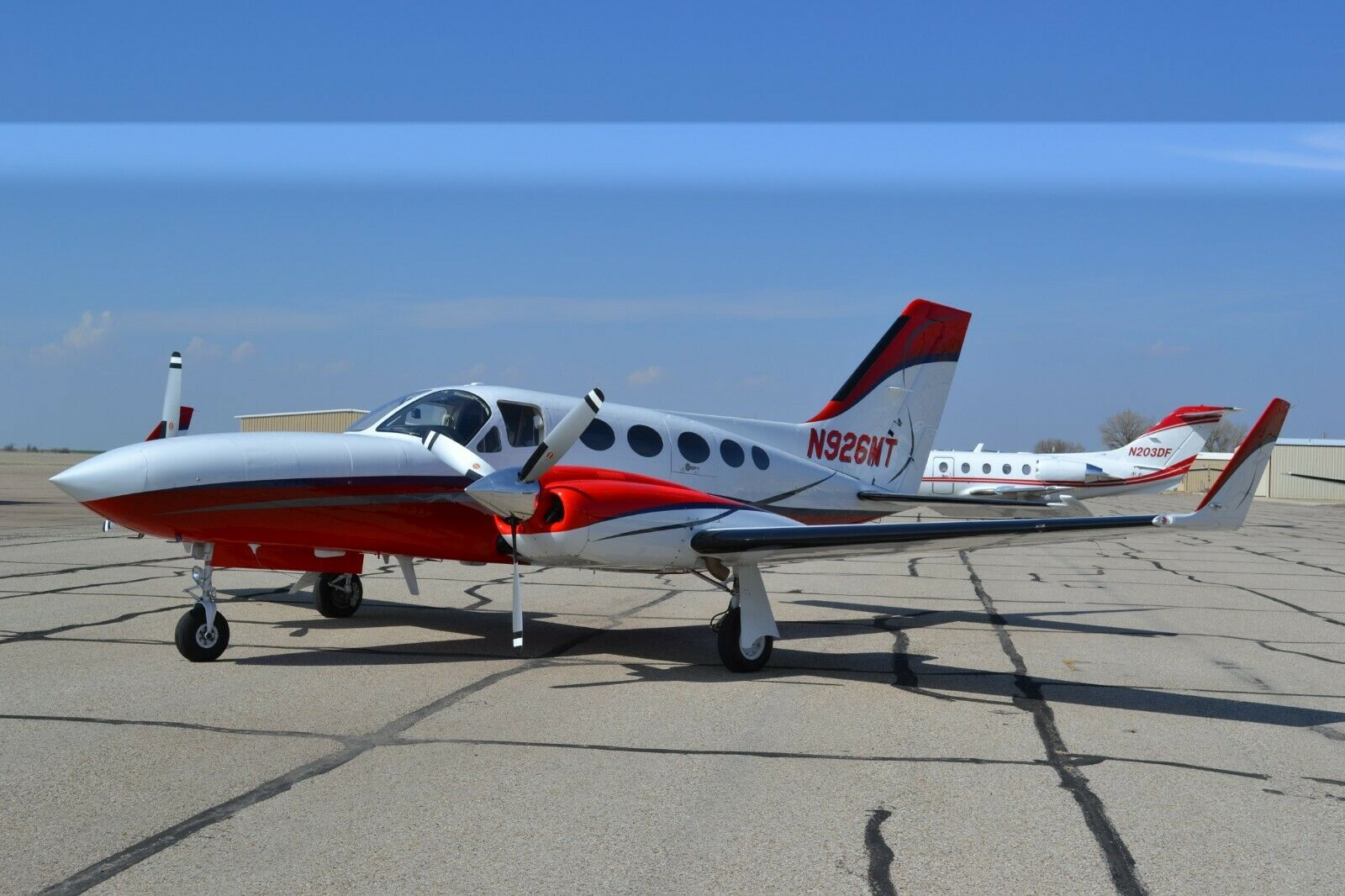 well equipped 1979 Cessna Golden Eagle aircraft