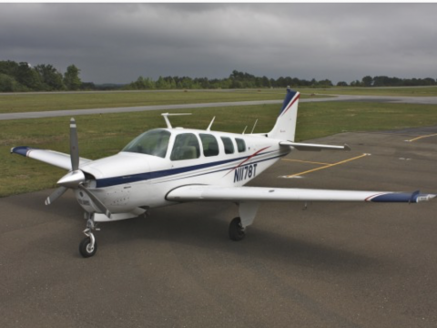 well maintained 1976 Beechcraft Bonanza aircraft for sale