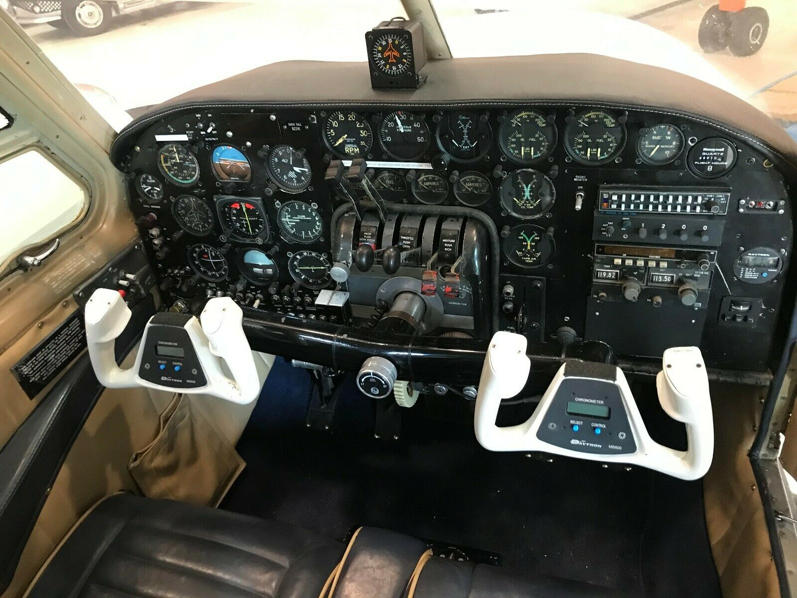 Always Hangared 1959 Beechcraft B95 Travel aircraft