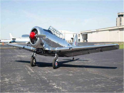beautiful 1954 Harvard T6 Mark IV aircraft for sale