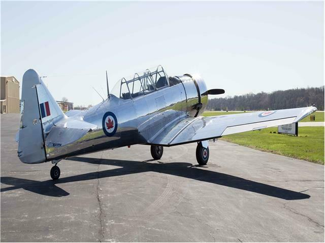beautiful 1954 Harvard T6 Mark IV aircraft