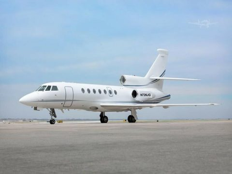 luxurious 1997 Dassault Falcon 50EX aircraft for sale