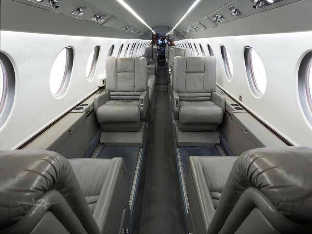 luxurious 1997 Dassault Falcon 50EX aircraft