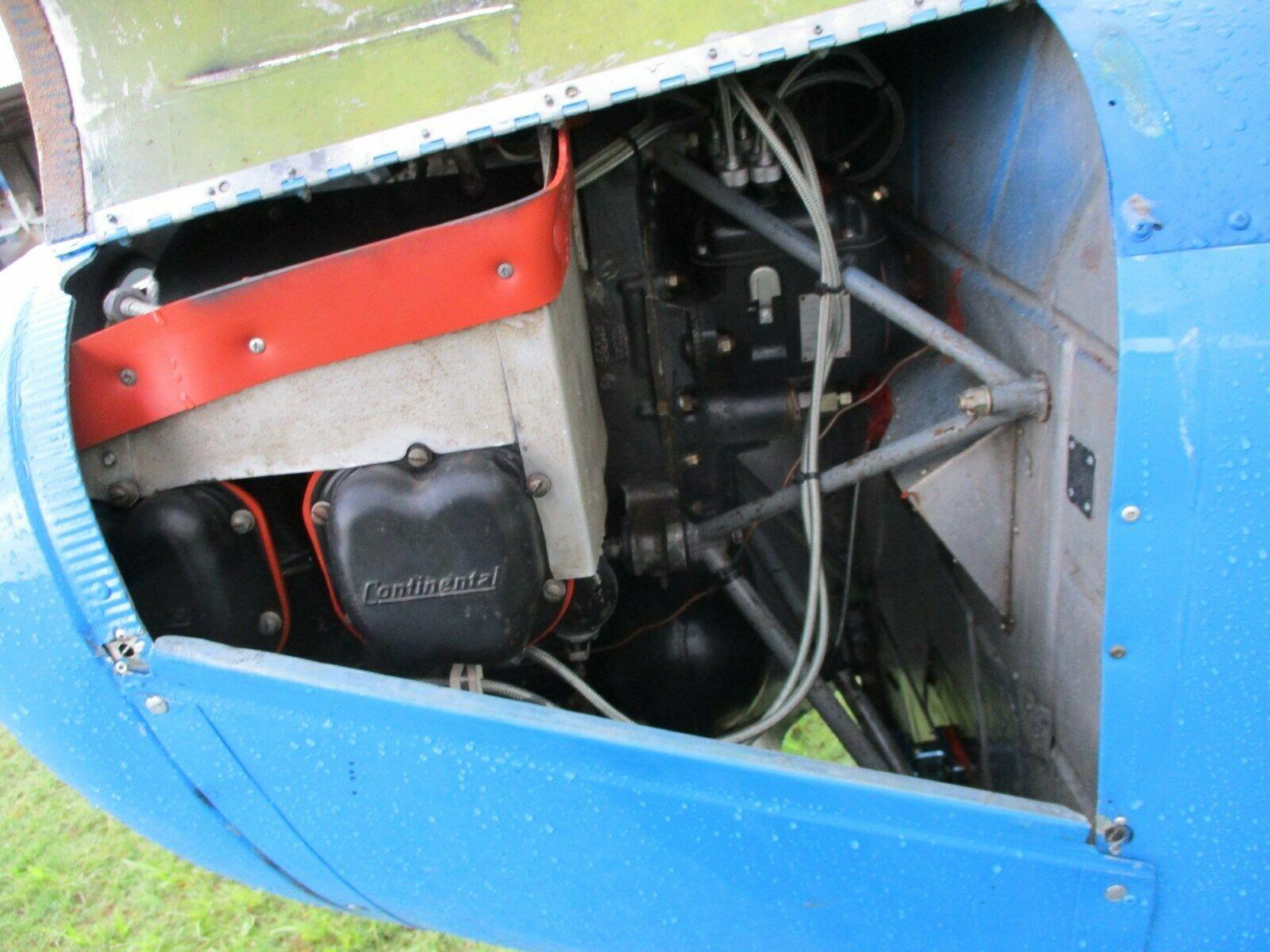 needs TLC 1947 Aeronca 11AC Chief aircraft