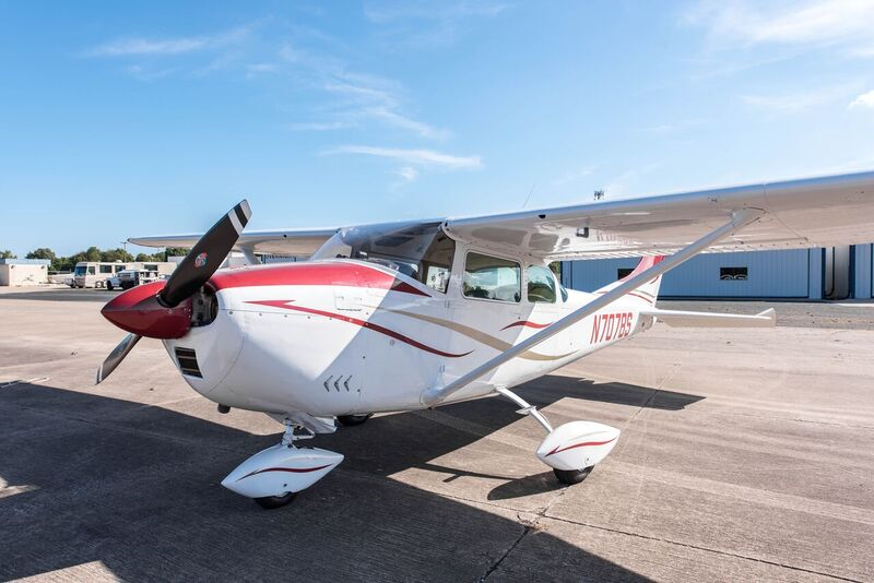 new paint 1962 Cessna 180 aircraft