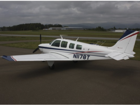 well maintained 1976 Beechcraft Bonanza A36 aircraft for sale