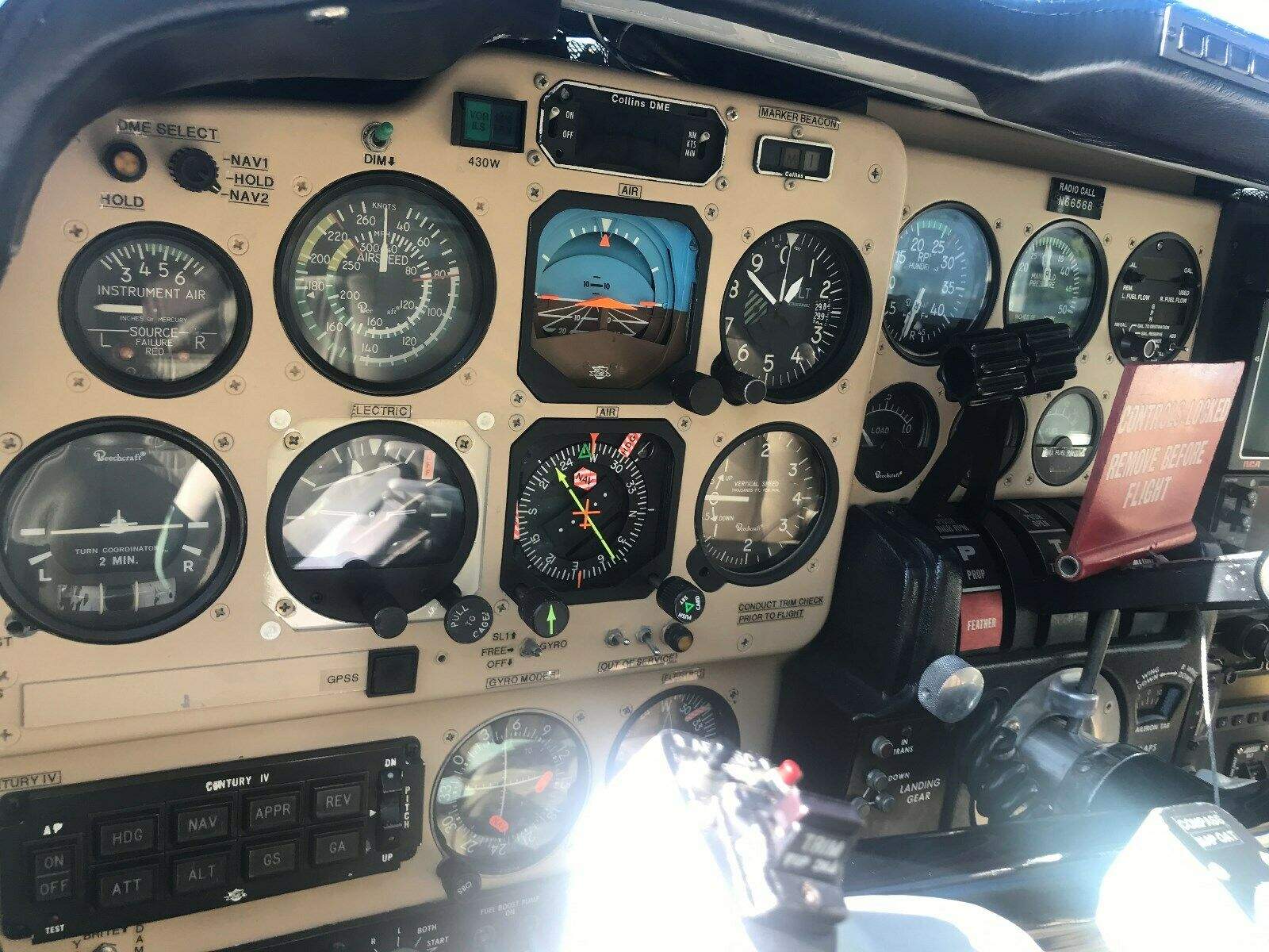 comfortable 1979 Beechcraft B58TC aircraft