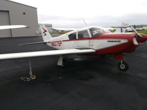 great shape 1959 Piper PA 24 180 Comanche aircraft for sale