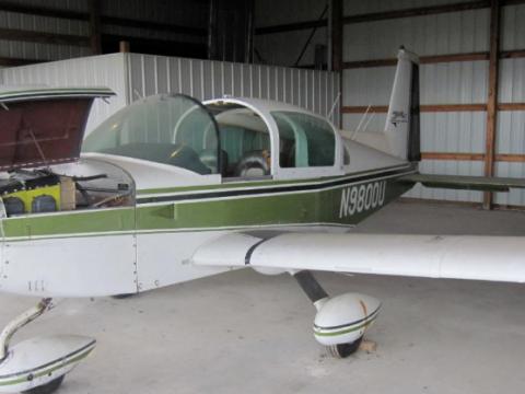 never damaged 1976 Grumman Cheetah aircraft for sale