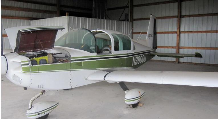never damaged 1976 Grumman Cheetah aircraft