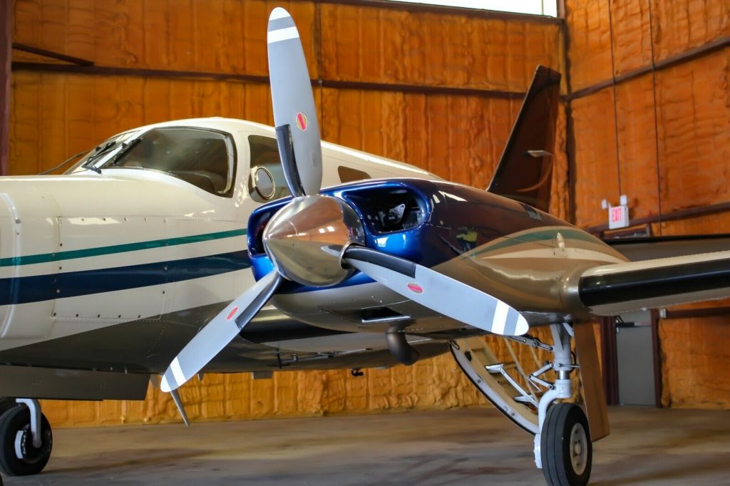 newer repaint 1984 Piper MOJAVE aircraft