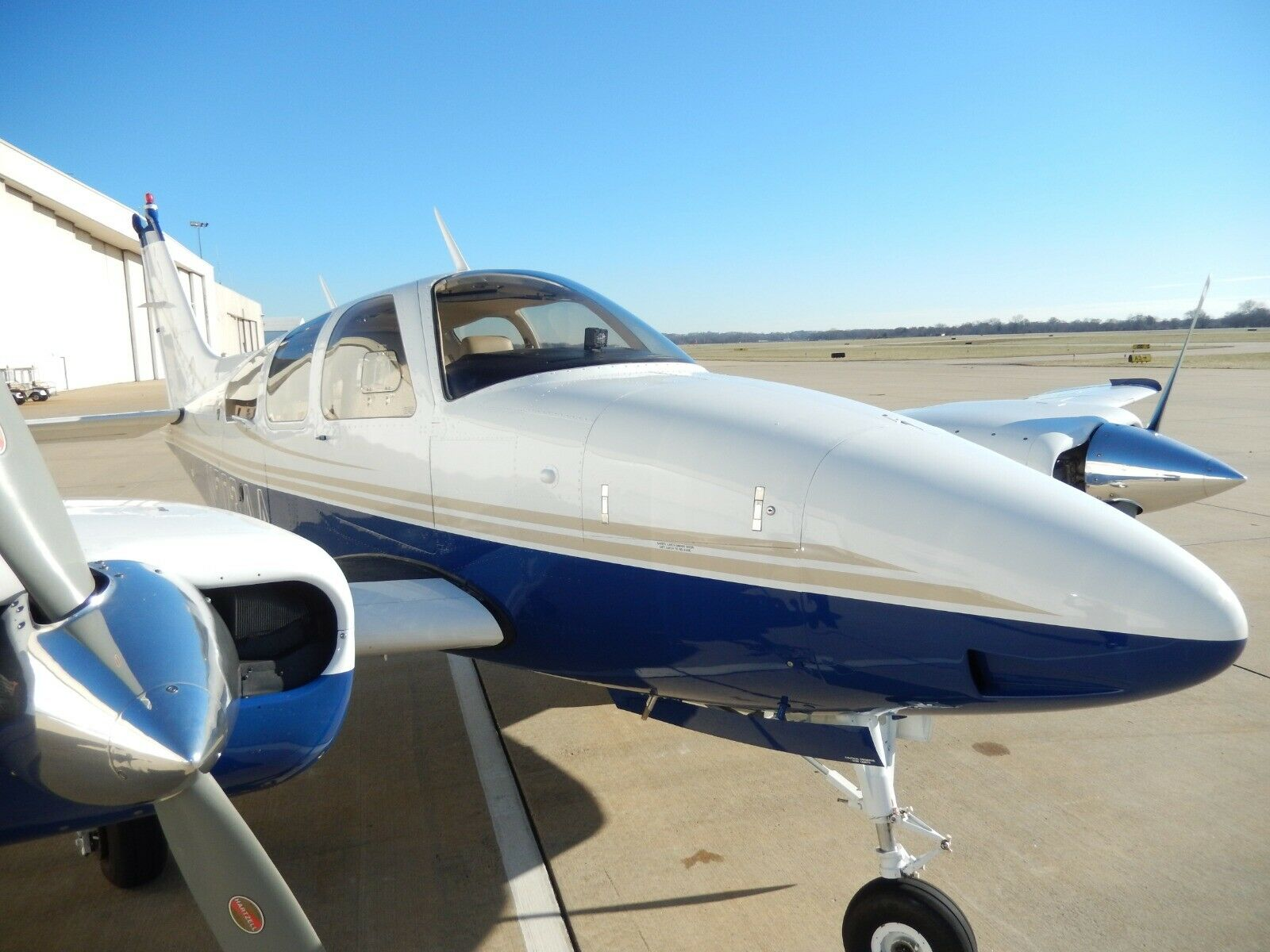 no damage 1978 Beechcraft Baron 55 aircraft for sale