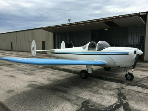 vintage 1946 Ercoupe 415C Light Sport aircraft for sale