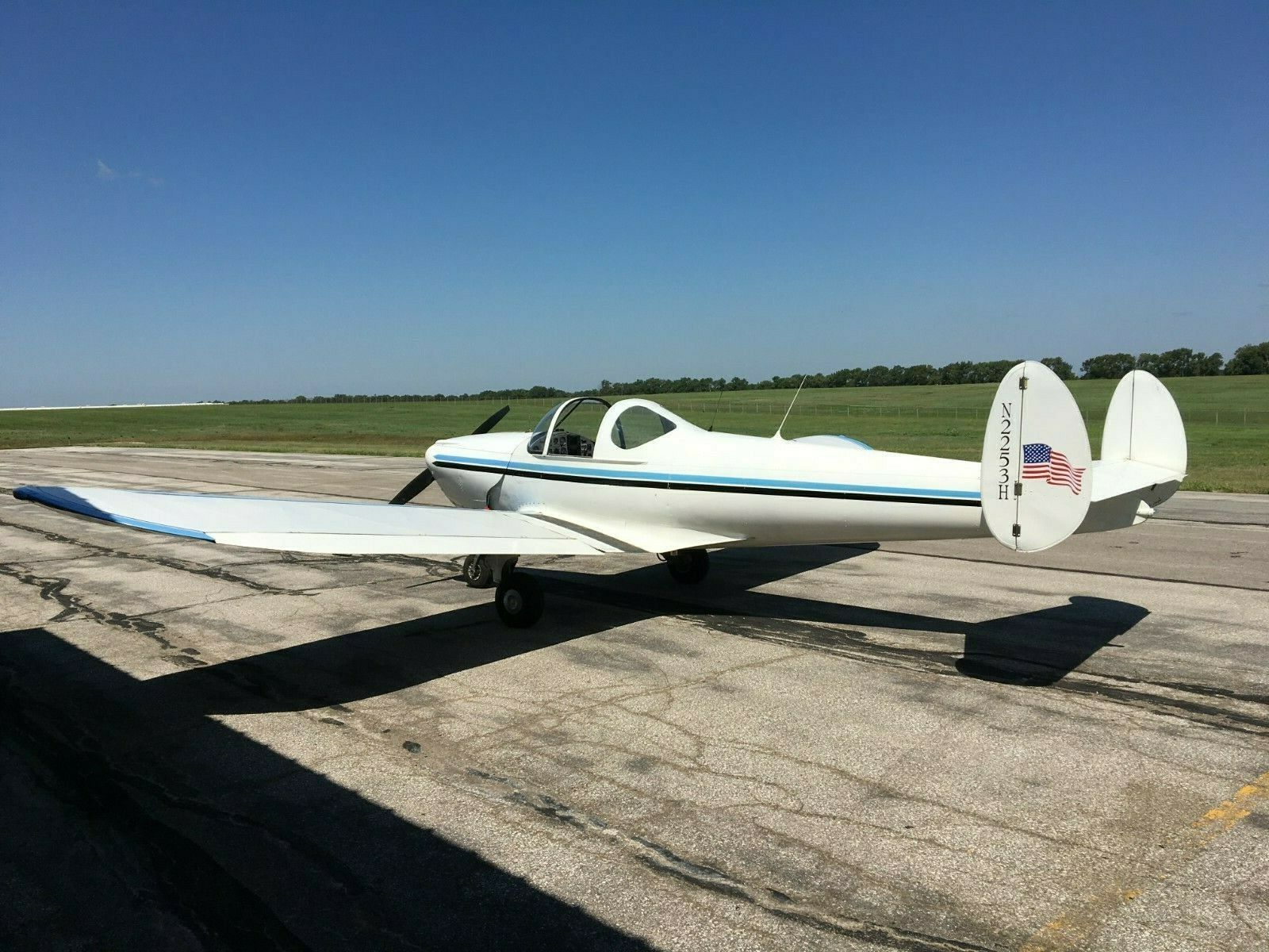 vintage 1946 Ercoupe 415C Light Sport aircraft