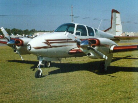 well serviced 1958 Beechcraft 95 Travel Air aircraft for sale