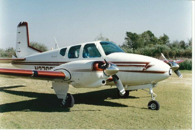 well serviced 1958 Beechcraft 95 Travel Air aircraft