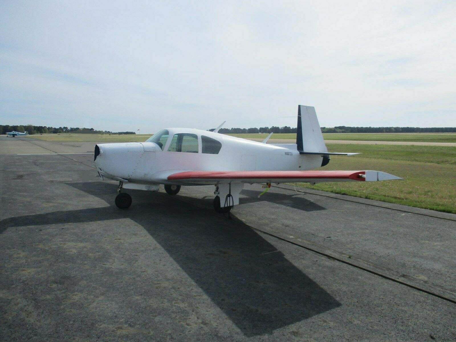 Airframe 1963 Mooney M20C aircraft