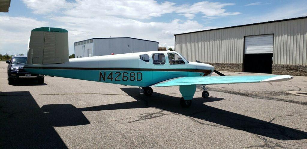clean 1956 Beechcraft G35 Bonanza aircraft