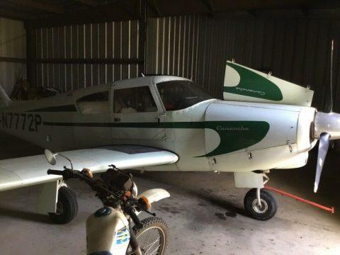 hangared 1961 Piper Comanche 180 aircraft for sale