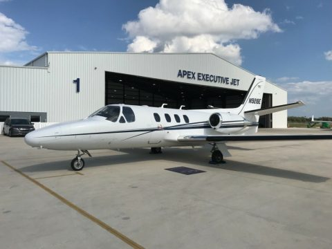 well maintained 1981 Cessna Citation 501SP aircraft for sale