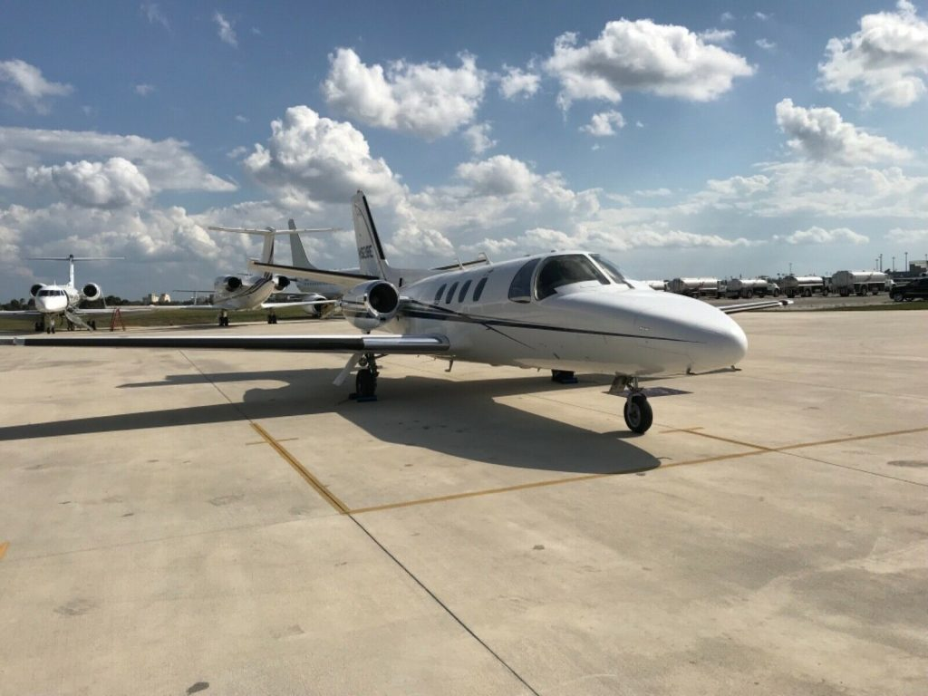 well maintained 1981 Cessna Citation 501SP aircraft