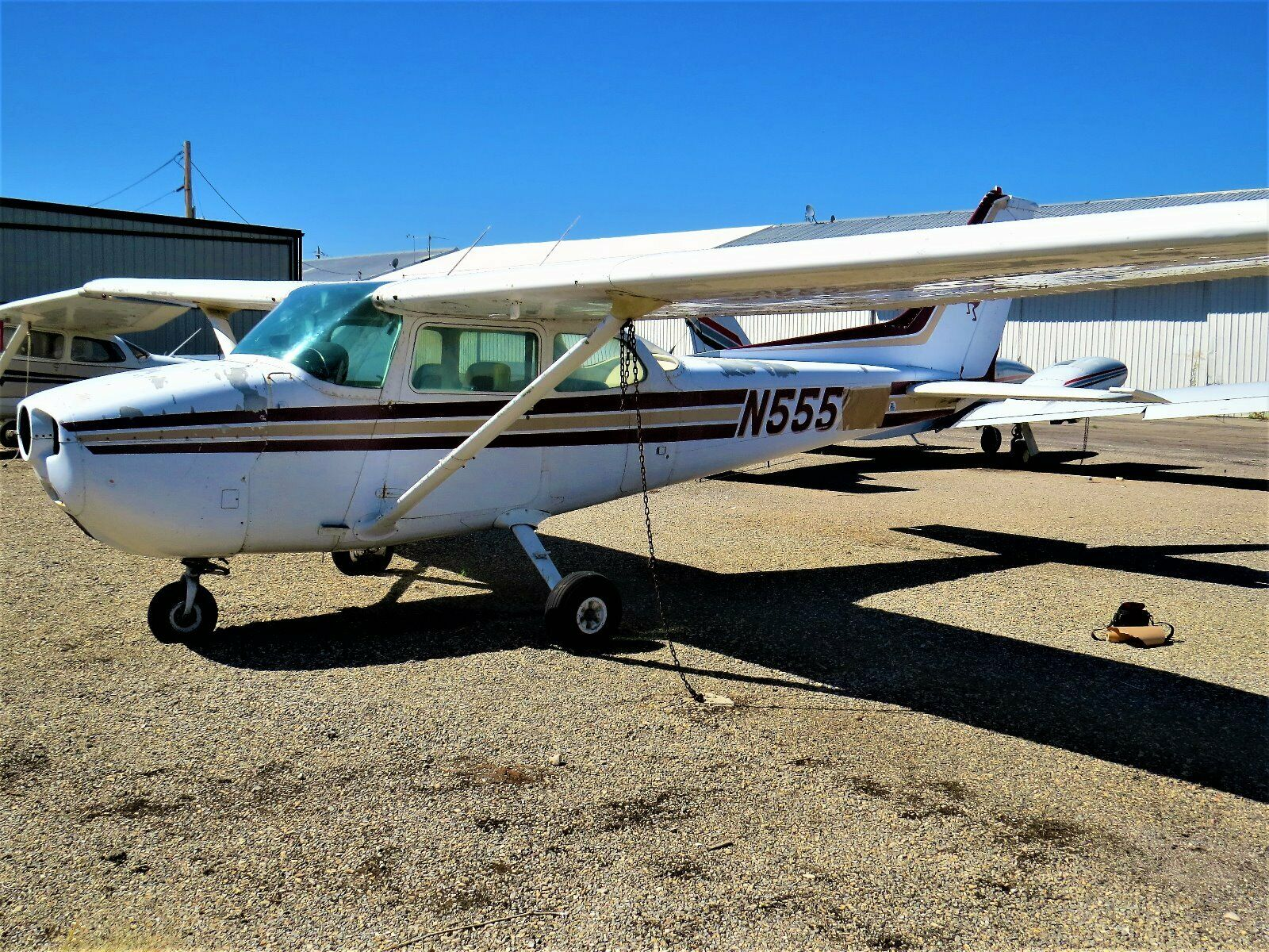 complete in crates 1978 Cessna Skyhawk 172N