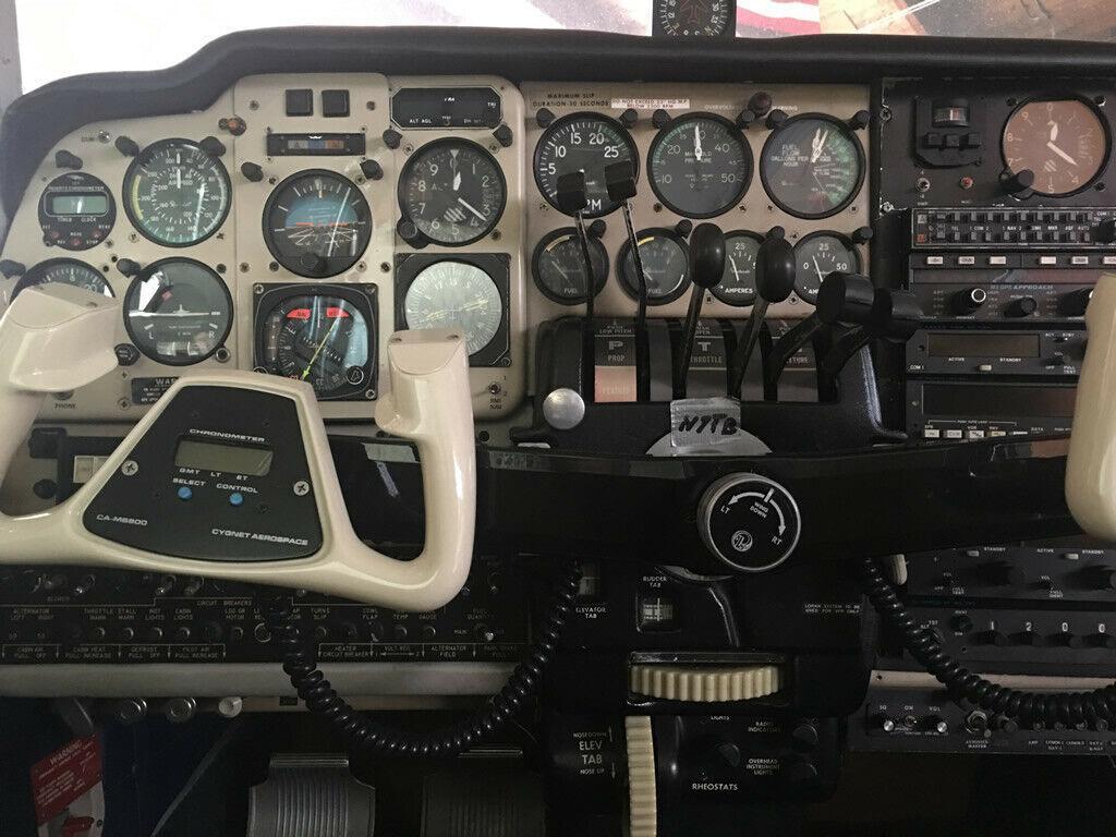 excellent shape 1966 Beechcraft D95A Travel Air aircraft
